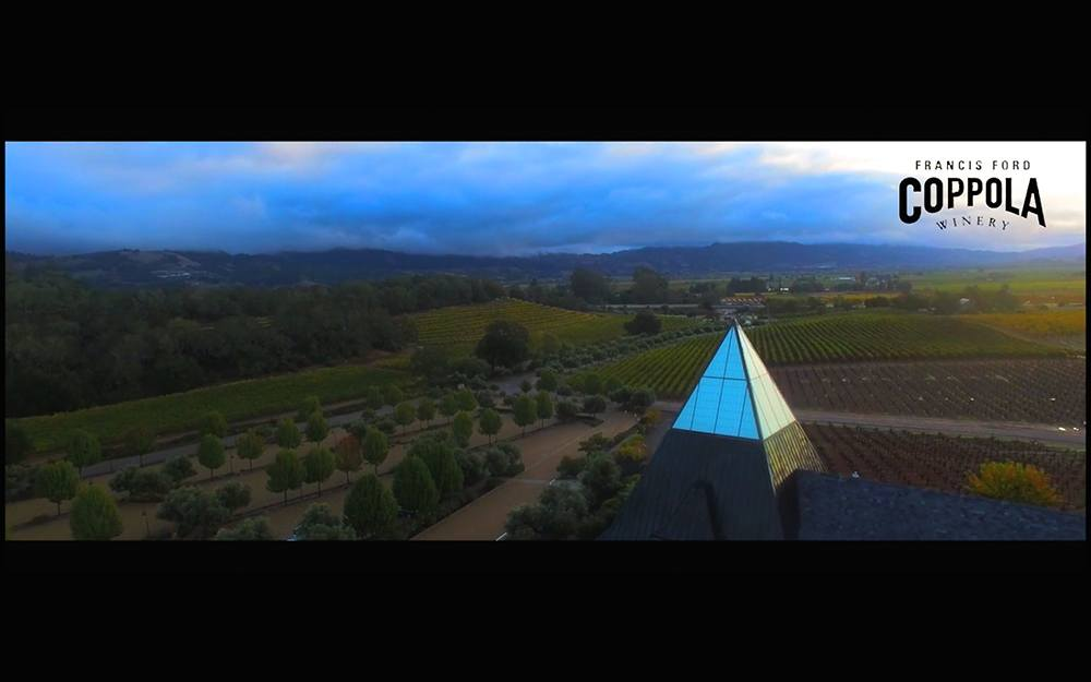 Francis Ford Coppola Winery (Aerial Video)